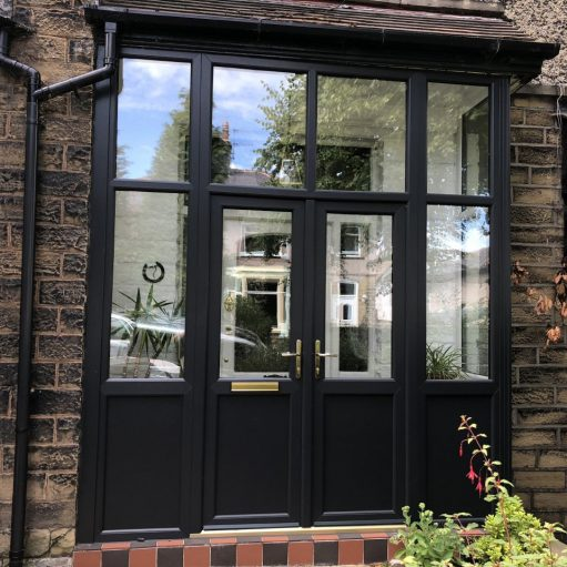 REHAU uPVC porch