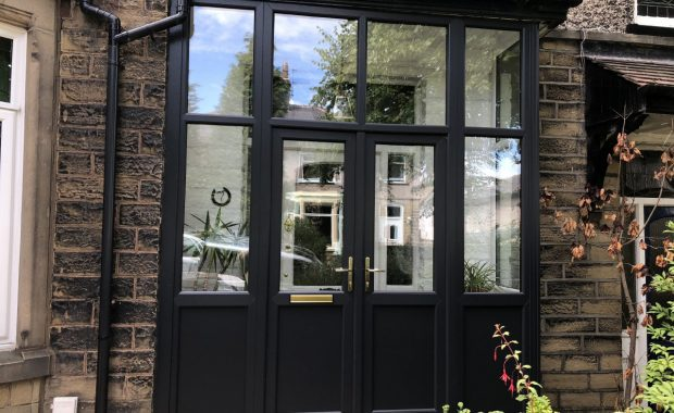 Bright & beautiful – coloured uPVC windows & doors