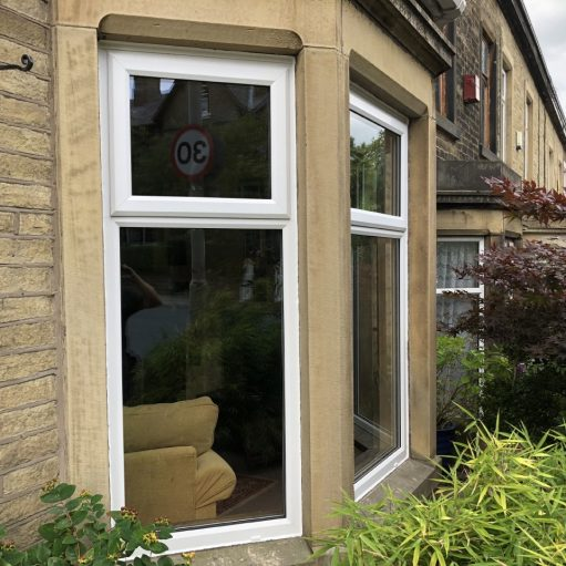 VEKA uPVC bay window