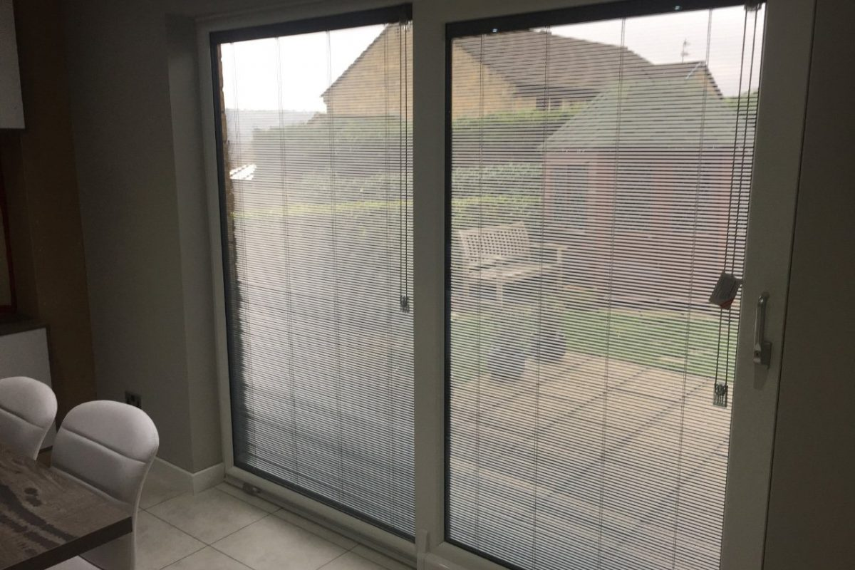 ScreenLine integral blinds