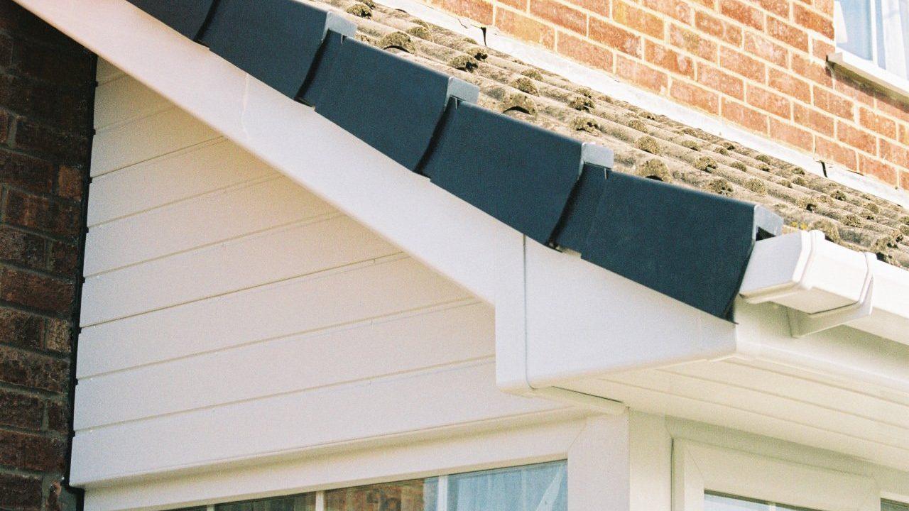 uPVC roofline detail