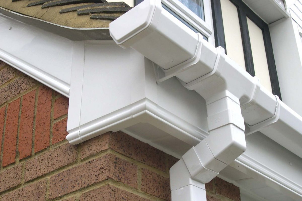 uPVC roofline detail